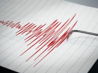 Cutremur cu magnitudinea de 4,3 înregistrat în zona seismică Vrancea