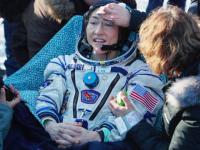 Reacţia câinelui unei astronaute când o revede după un an petrecut în spaţiu