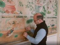 Imagini din timpul renovării Palatului Buckingham, care va costa 440 de milioane €