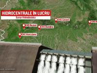 Activiștii contestă construcția hidrocentralei de pe râul Răstolița, din Mureș