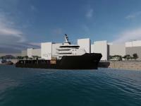 VIDEO. Cum va arăta primul port pe Dunăre pentru turiștii străini care vin în Deltă