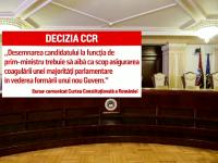 """Analiști, despre decizia CCR privind desemnarea premierului. """"Suntem într-o situație de criză"""""""