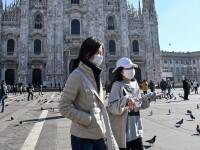 """Italia a """"exportat"""" coronavirusul în mai multe țări din Europa"""