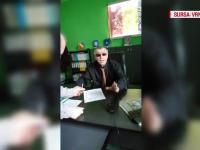 Reacția șefului ISC Vaslui după ce a fost filmat beat la birou: