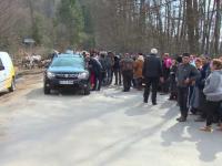 Revoltă în Nucșoara, după ce s-a anunțat că vor fi 2 centre pentru suspecții de coronavirus