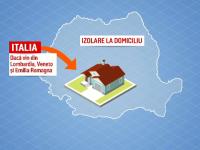 Coronavirus în România. O persoană confirmată, 99 în carantină și 7.174 izolate la domiciliu