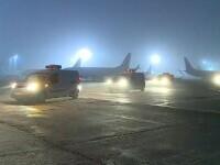 Incident cu avionul care aduce serul Moderna. Nu a putut să aterizeze din cauza ceții