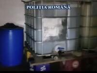 O grupare de traficanți de motorină avea acasă o adevărată fabrică de prelucrare, la Constanța