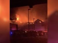 Hotel din Texas, distrus de un incendiu izbucnit în toiul nopții