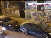 Furtuna de sâmbătă seara din Bucureşti s-ar putea repeta. Ne putem aştepta chiar la ninsori