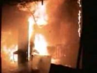 Aproape de dezastru: incendiu langa un depozit de carburanti din Iasi