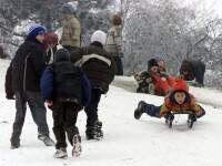 Vreme perfecta pentru sporturile de iarna pe partiile din Bucegi