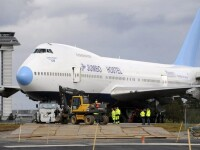 Primul avion-hotel din lume, gata pentru decolare