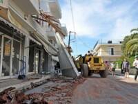 Drama in Grecia! O familie de romani, devastata de un cutremur