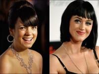 Lily Allen o ameninta pe Katy Perry pe Internet