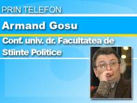 Armand Gosu: Romania este folosita ca pion pe masa de sah contra Ucrainei