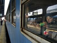 S-a dat drumul la trenul catre Aeroportul Henri Coanda!