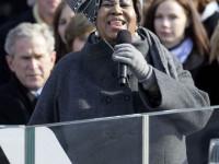 Aretha Franklin ar fi vrut sa ii cante mai bine lui Obama la investitura