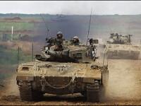 Armata israeliana isi incheie retragerea din Fasia Gaza