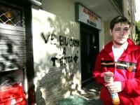 Magazinul unui roman din Italia, tinta unui atac rasist!