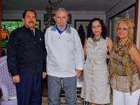 Fidel Castro, in poze alaturi de femeia cu care are cinci copii