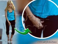 Christina Aguilera prinsa in ofsaid! I-au pus praf de scarpinat in colanti?