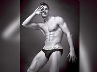 Cristiano Ronaldo s-a lasat in lenjerie de firma!
