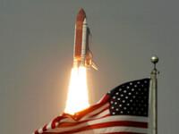 Doi astronauti gemeni, impreuna in spatiu