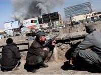 Atentate cu teroristi kamikaze in centrul capitalei afgane, Kabul!