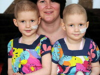 Drama unei familii din Marea Britanie: fiicele gemene, bolnave de cancer