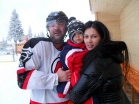 Nicoleta si Iuliana Luciu au sarbatorit Revelionul la -20 de grade