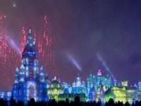 O lume de basm! Senzationale sculpturi de gheata in China
