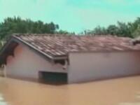 Cele mai mari inundatii din ultimele trei decenii in Brazilia. 35 de morti