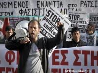 Confruntari violente in Atena, din cauza unei manifestatii a imigrantilor