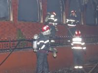 Incendiu de proportii la o fosta fabrica de cherestea din Suceava