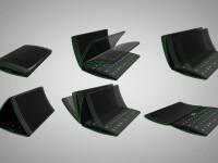 Flip-phone, aparatul viitorului: trei ecrane, posibilitati nenumarate.VIDEO