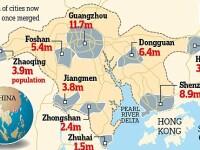 Chinezii fac cel mai mare oras din lume. De 2 ori cat populatia Romaniei