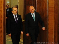 Emil Boc, la sediul central al PDL: Sunt alaturi de presedintele Basescu si la bine si la rau