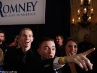 Lupta stransa in Iowa, intre republicani, in cursa pentru Casa Alba. Mitt Romney castiga cu 8 voturi