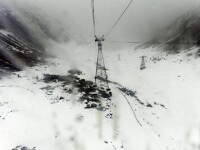 Avertizare Salvamont. Pericol de avalanse in masivul Fagaras