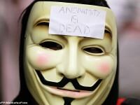 Site-ul ANRE, spart de o grupare care se recomanda Anonymous Romania. Mesajul lasat de hackeri