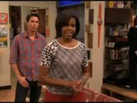 Michelle Obama isi joaca propriul rol intr-un serial pentru adolescenti