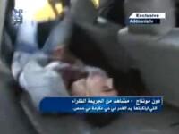 VIDEO cutremurator. Jurnalist strain, ucis intr-un atac cu obuze in orasul sirian Homs