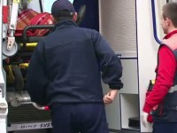 Clipe de groaza pentru o familie din Bistrita dupa ce fetita lor a fost lovita de un TIR