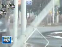 VIDEO. Ce se intampla cand o soferita din Deva confunda pedalele chiar in fata radarului
