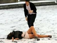 Imaginile cu tinerele din Marea Britanie care risca sa moara de hipotermie au socat lumea