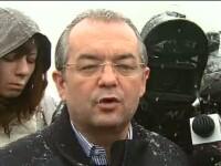 Boc: Situatia va reveni la normalitate dupa ninsori, dar trebuie sa mai treaca o perioada