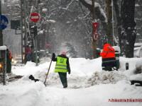 Romania sub zapada:12 drumuri nationale,inchise. Circulatia, ingreunata pe A2. Lista rutelor blocate