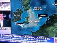 Gafa CNN care a schimbat geografia Marii Britanii. Americanii nu se impaca deloc cu hartile