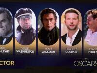 Premiile Oscar 2013. Lista completa a nominalizarilor